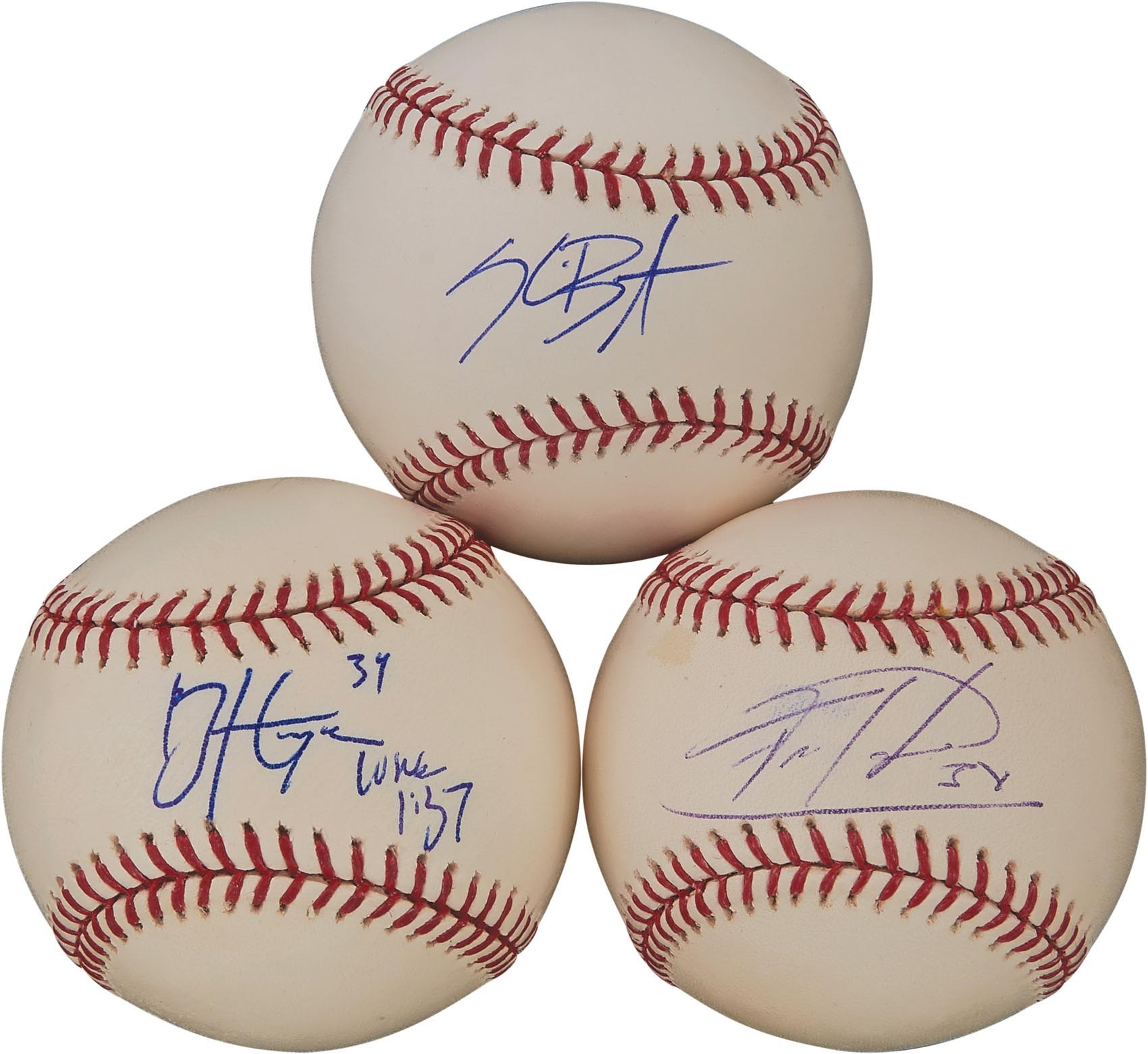 Autographed Baseballs - Monthly 07-18
