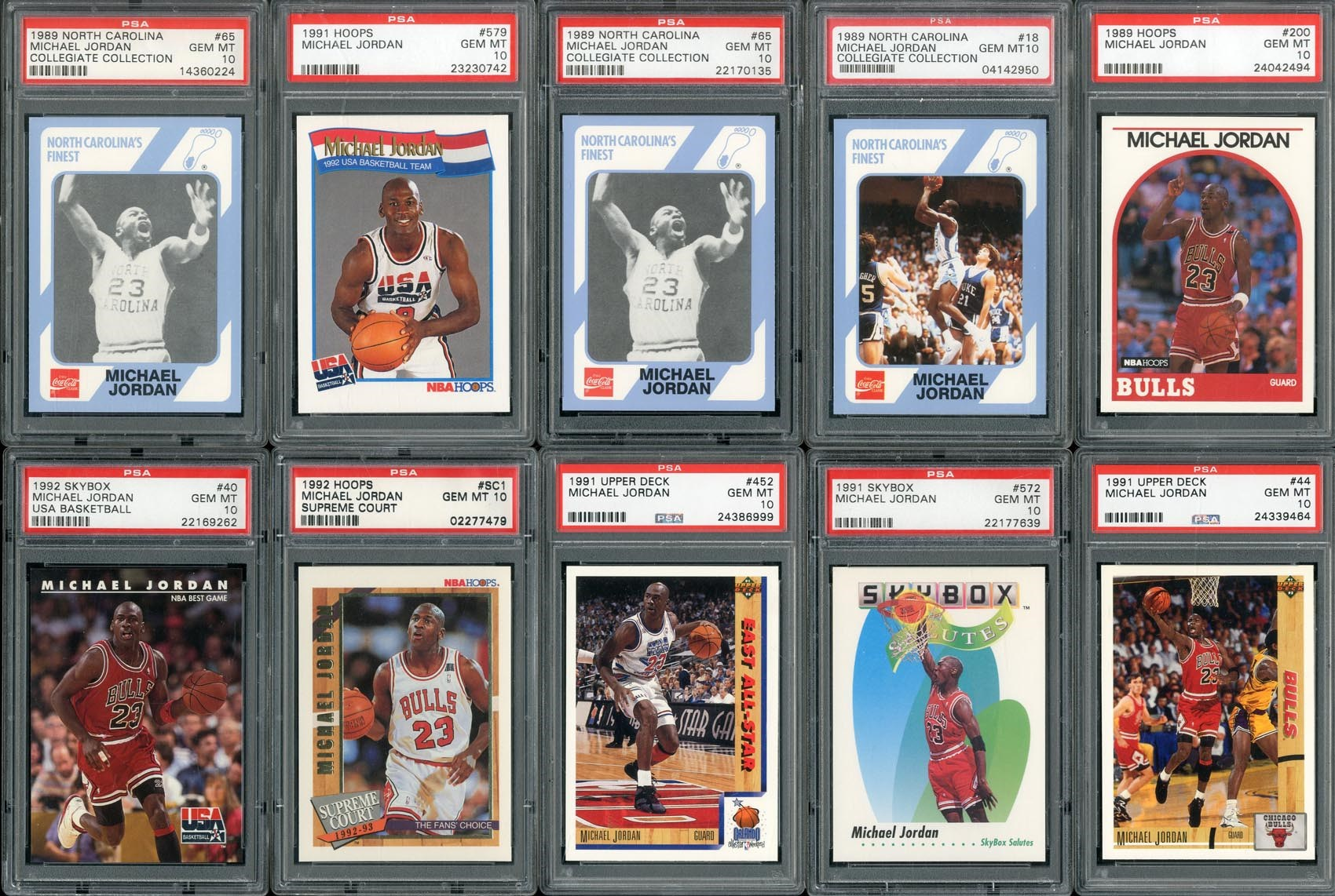Basketball Cards - Monthly 07-18