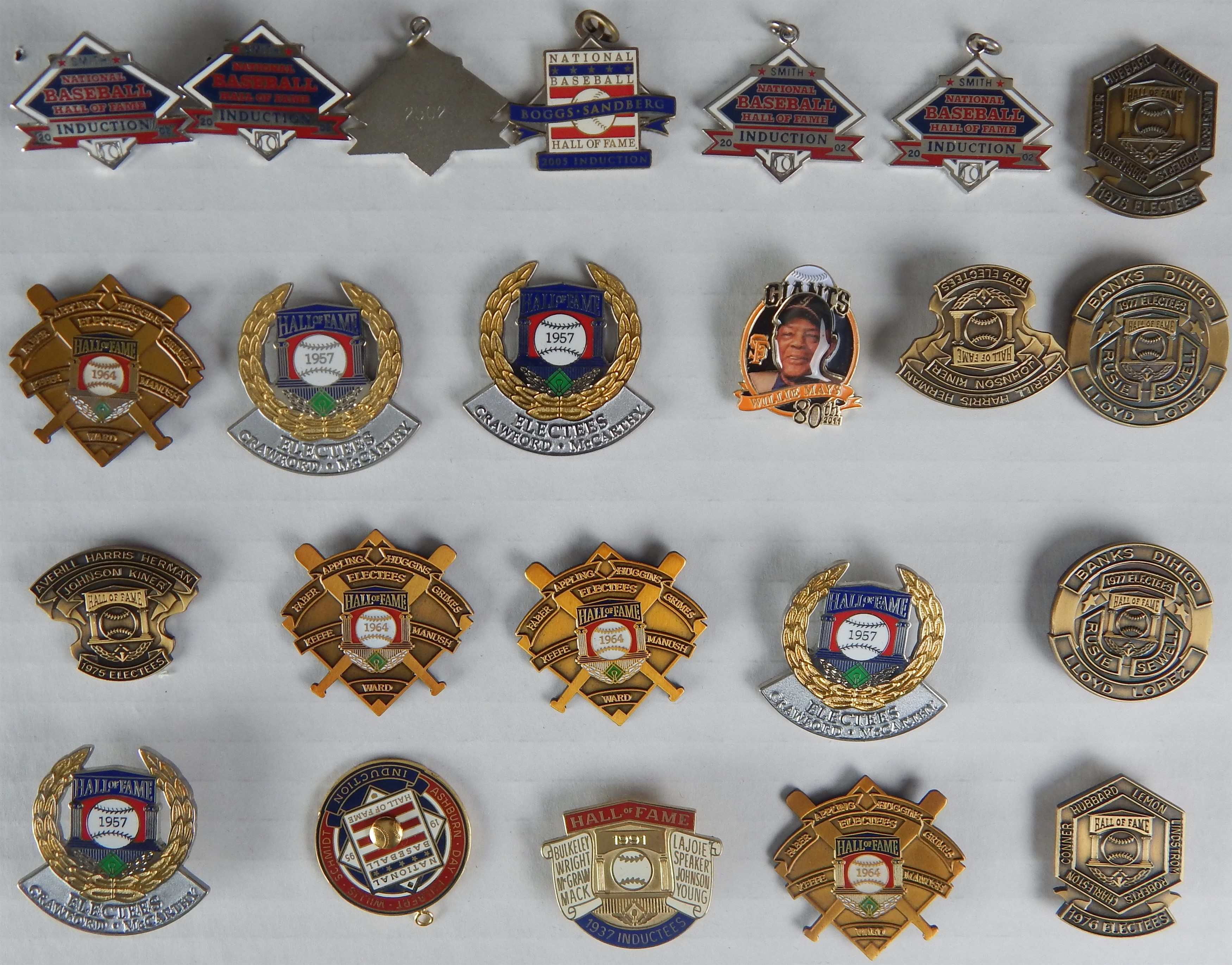 Baseball Pins - Monthly 05-18