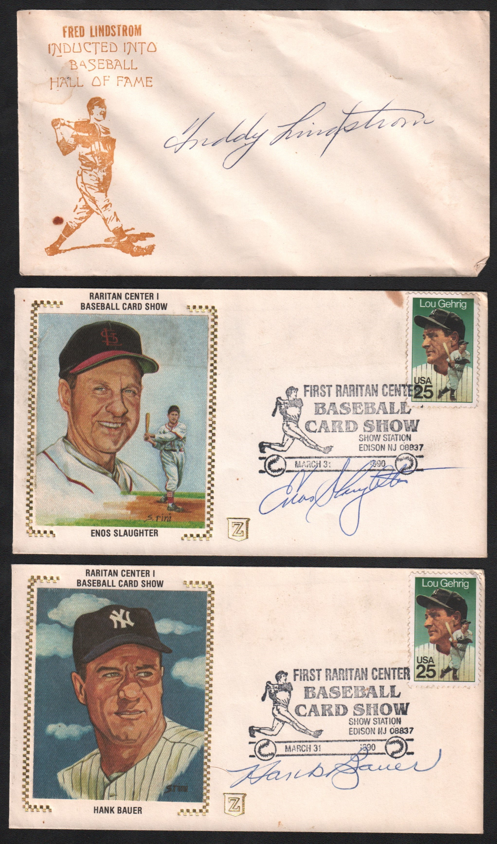Baseball Autographs - Monthly 05-18