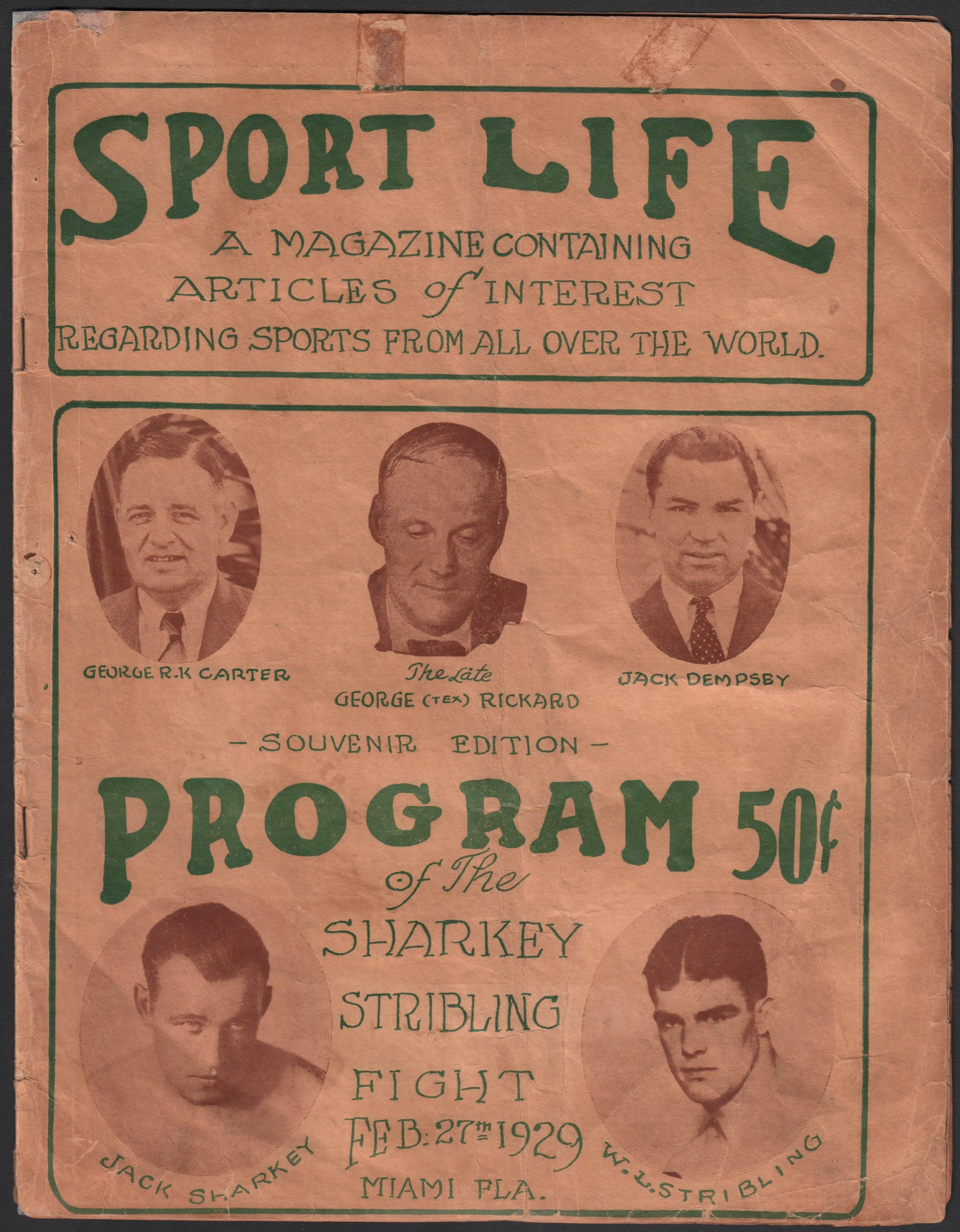 Muhammad Ali & Boxing - Monthly 06-18