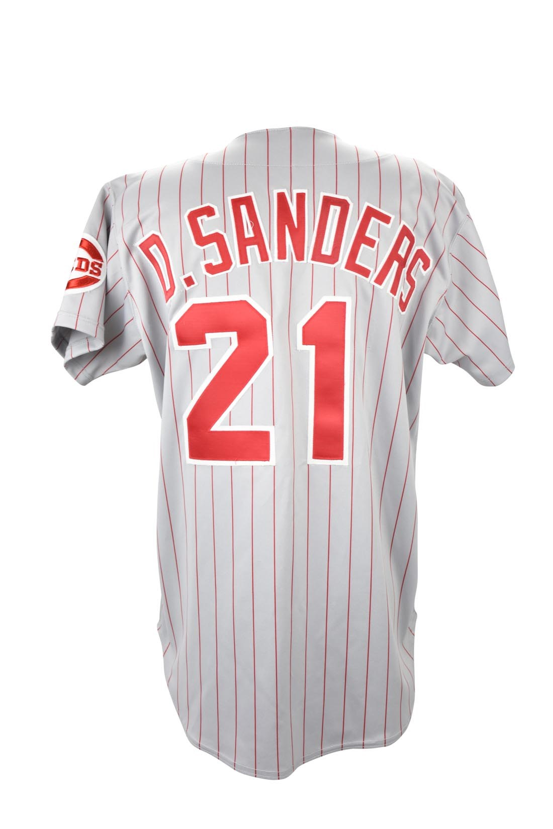 new style b09a9 c01a1 deion sanders reds jersey