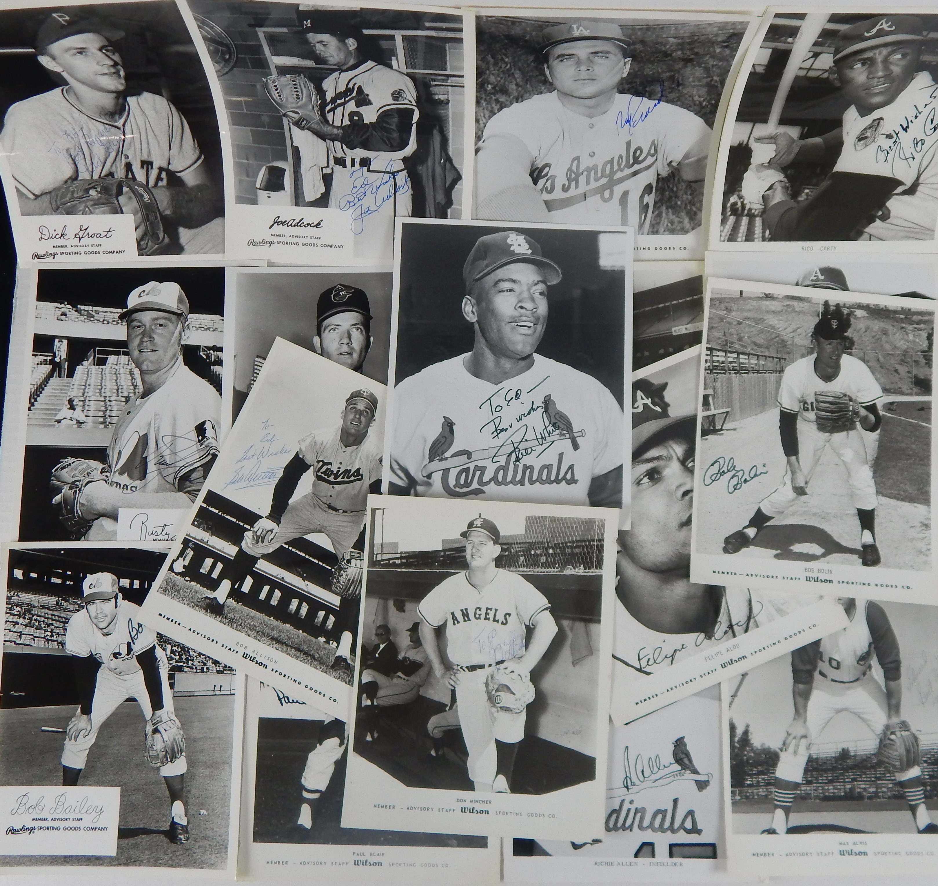 Baseball Autographs - Monthly 07-18