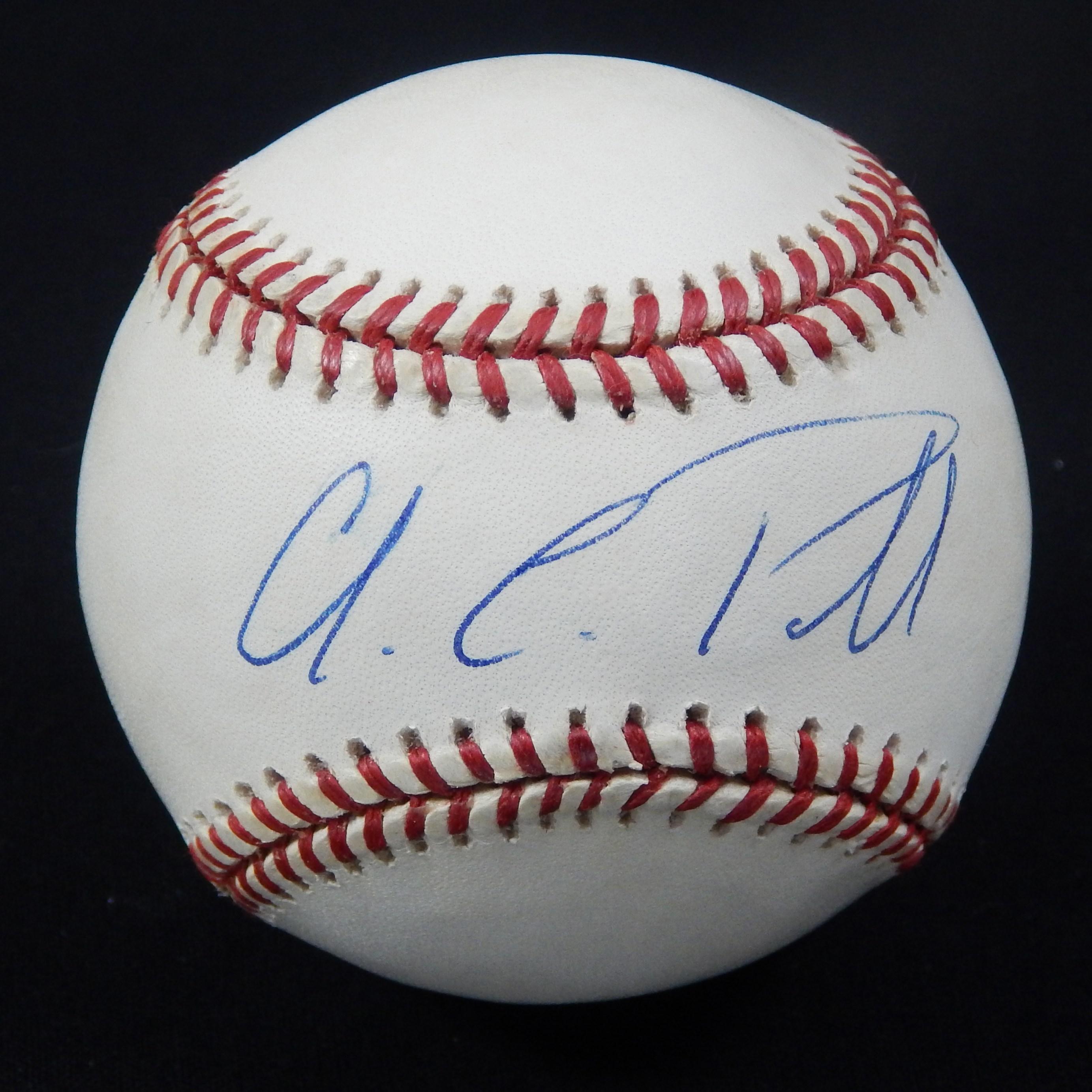 Single Signed Baseballs - Monthly 07-18