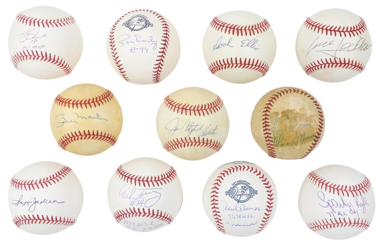 NY Yankees, Giants & Mets - Future Auctions