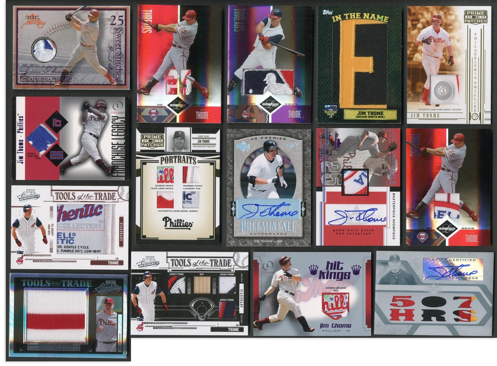 Jim Thome Master Collection - Monthly 10-18
