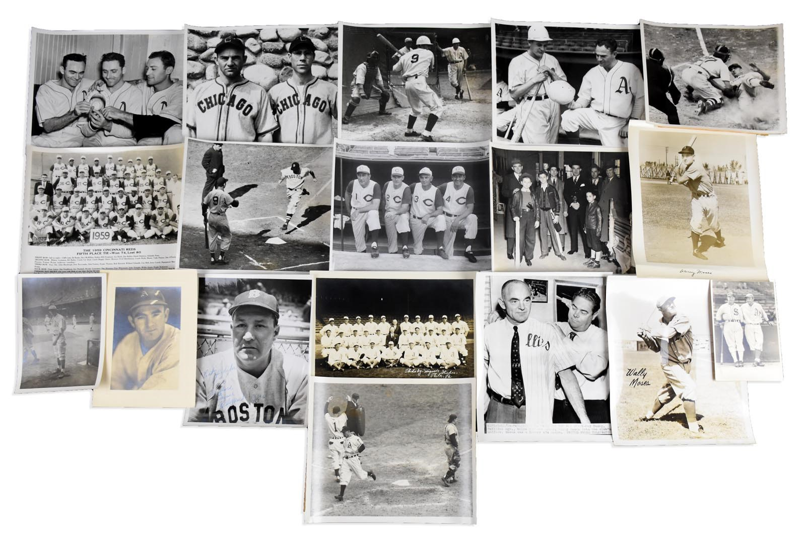 Vintage Sports Photographs - Monthly 10-18
