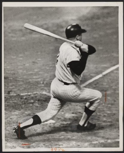 Mickey Mantle - Monthly 10-18