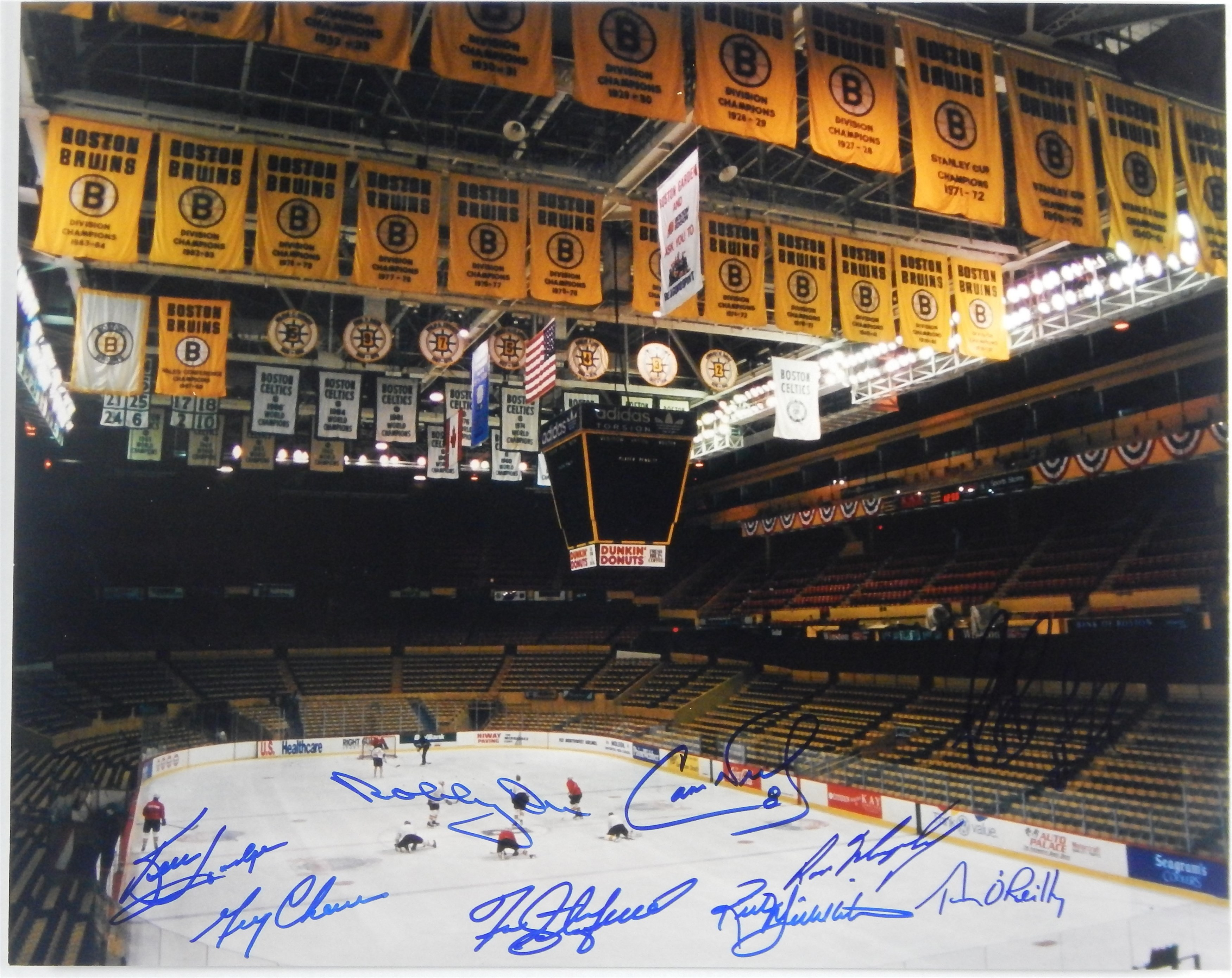 Hockey Autographs - Monthly 10-18