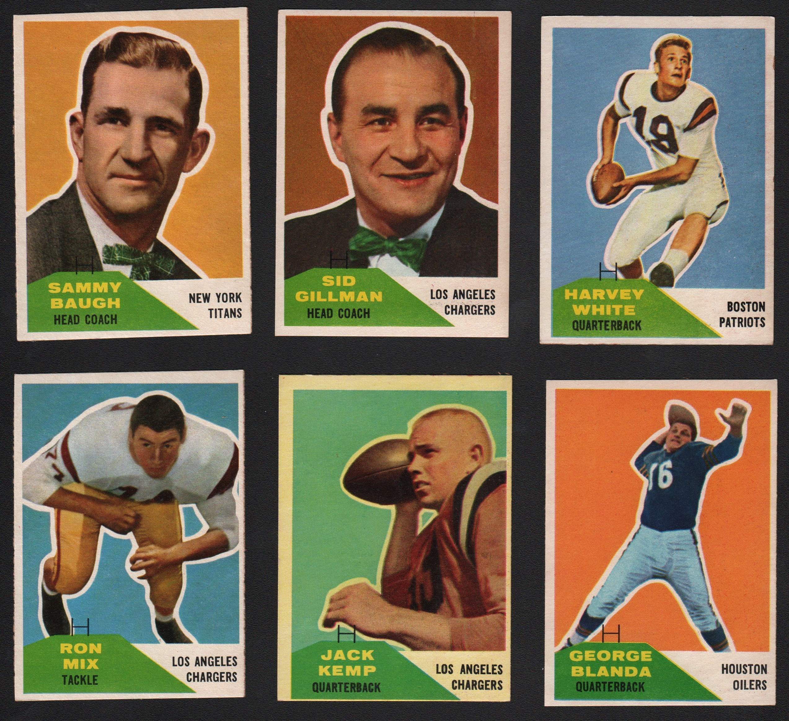 Football Cards - Monthly 11-18
