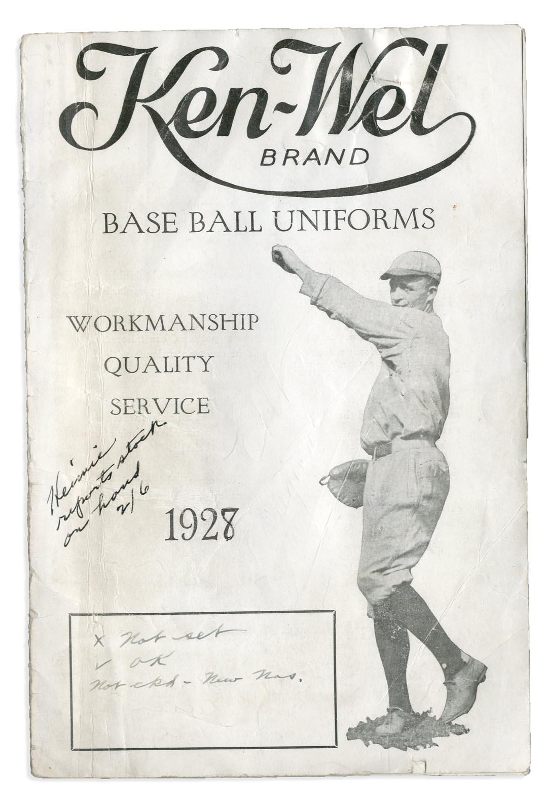 Baseball Equipment - Monthly 11-18