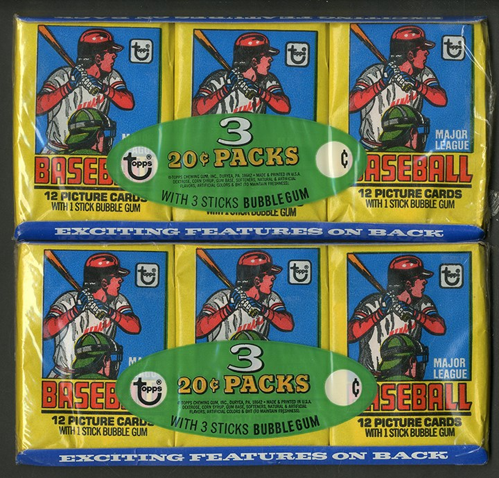 Unopened Wax Packs Boxes and Cases - Monthly 11-18