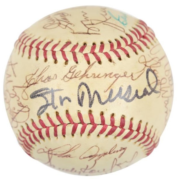 Baseball Autographs - Monthly 11-18