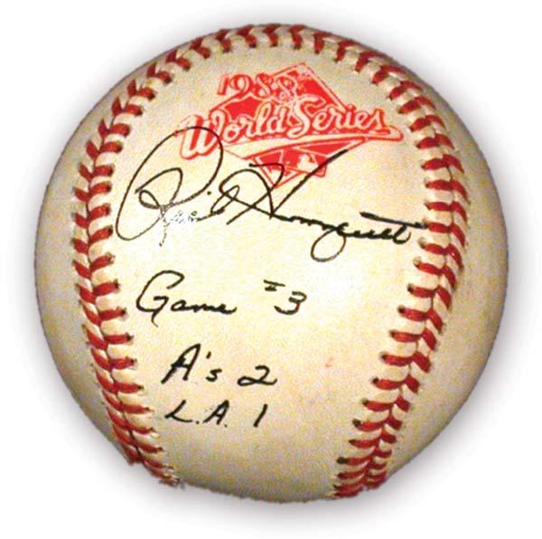 Game Used Baseballs - auction