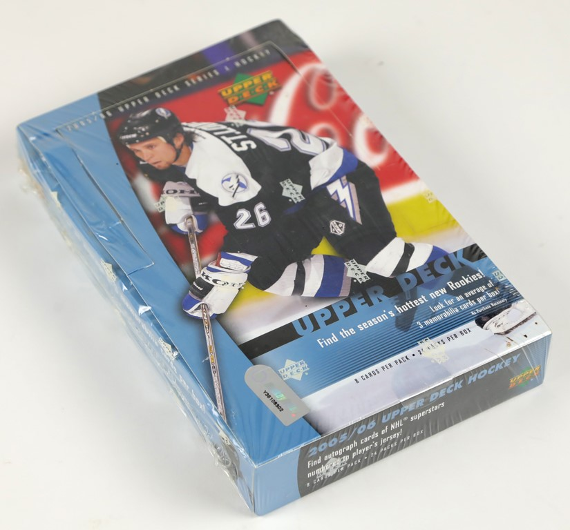 2005-06 Upper Deck Hockey Unopened Box - Crosby Rookie Year