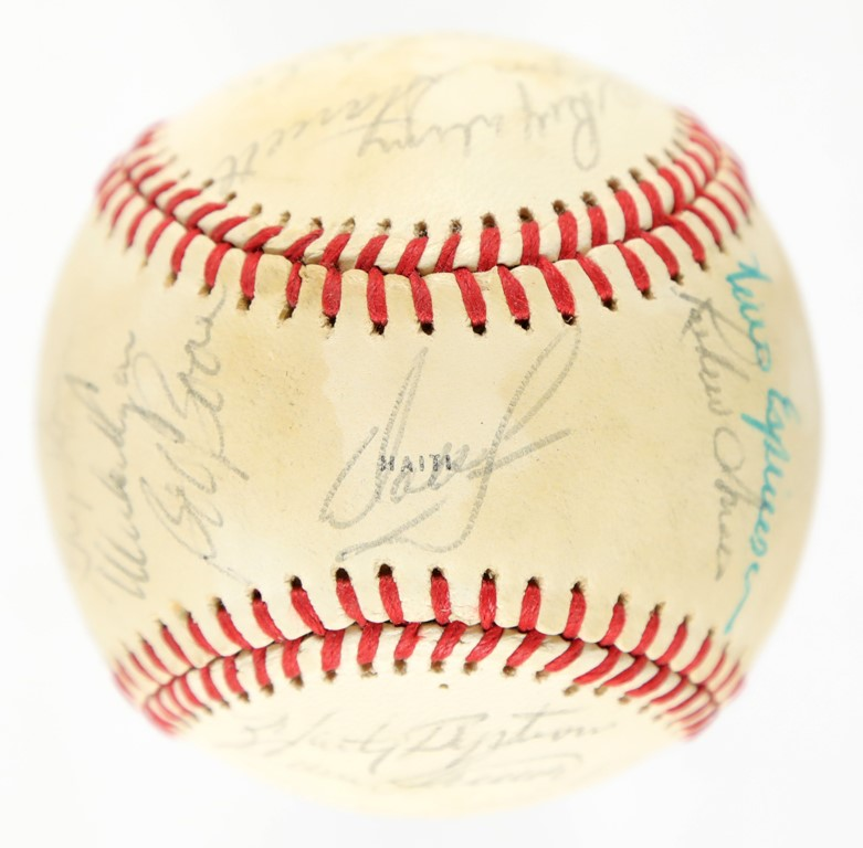 1980 World Champion Philadelphia Phillies Team-Signed Baseball