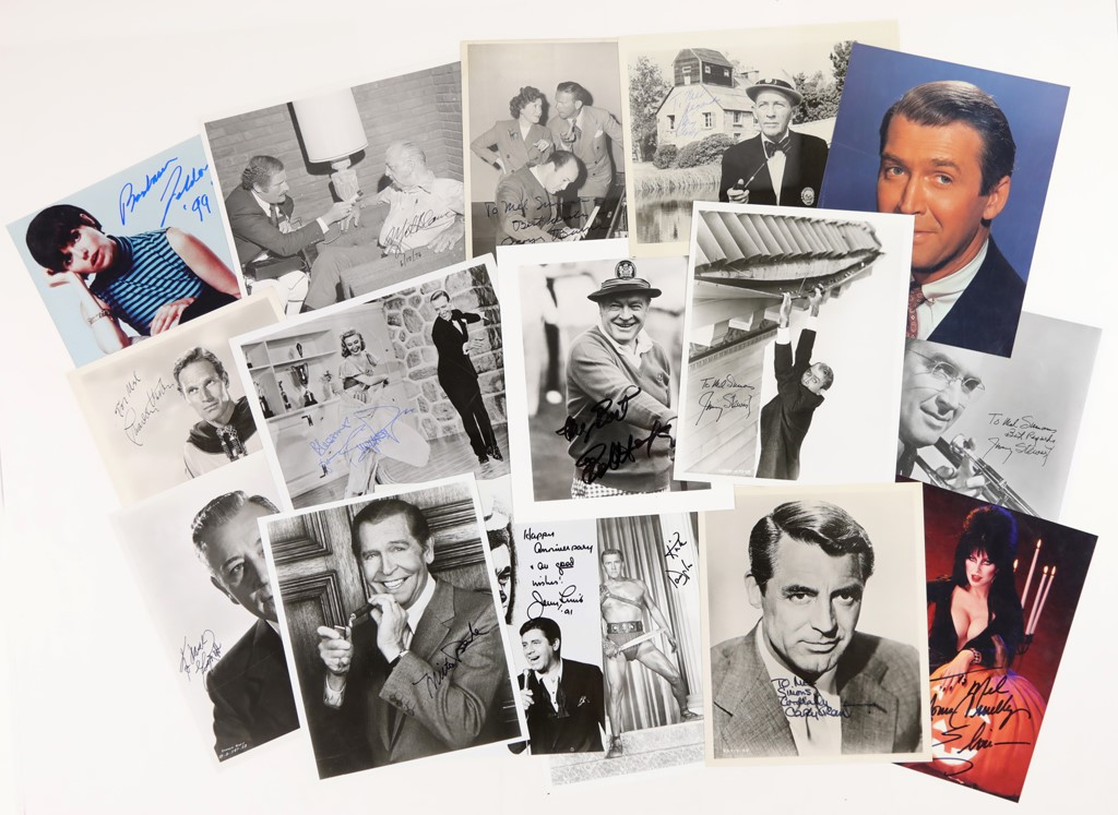 Superb Collection of Radio, TV and Movie Personalities Including Many Classic Actors (100+)