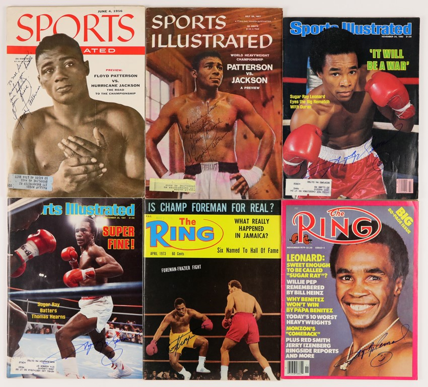In-Person Signed Boxing Magazines (40)