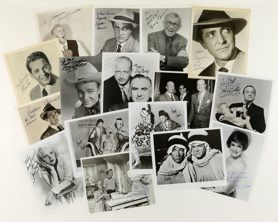 1970s-1980s Old Time TV & Radio Personalities Signed Photos (60)