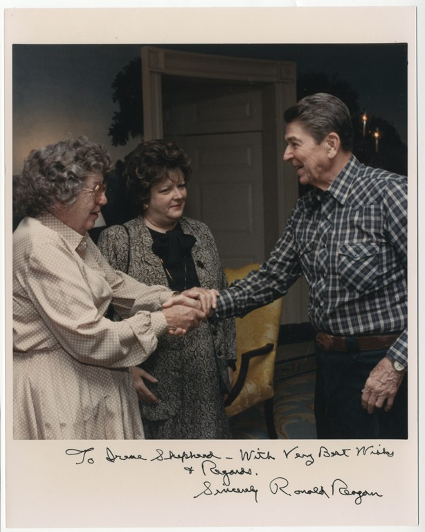 Ronald Reagan Signed Photograph (PSA)
