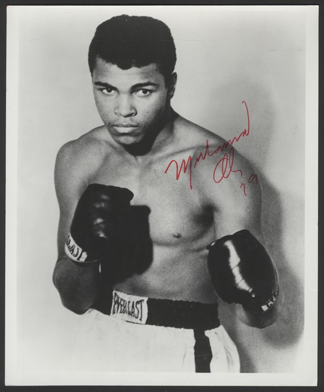 Muhammad Ali Vintage Signed Photo