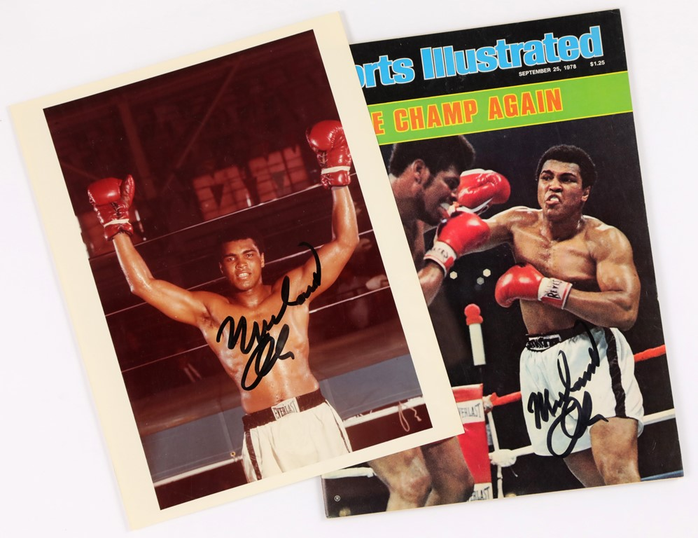 Muhammad Ali & Boxing - 2020 Winter Pop-Up Auction