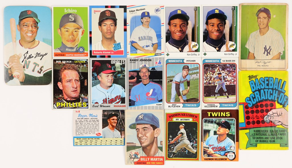 Baseball and Trading Cards - 2020 Winter Pop-Up Auction