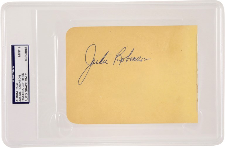 Jackie Robinson & Brooklyn Dodgers - 2020 Winter Pop-Up Auction